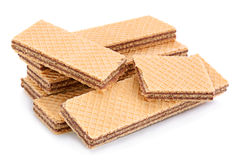 Wafer closeup on white Stock Images