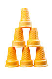 Wafer cones Stock Photography