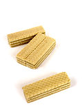 Wafer cookies Stock Photos