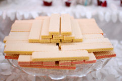 Wafer Cookies Royalty Free Stock Photo