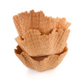 Wafer cups Stock Photography