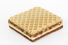 Wafer del cioccolato Fotografie Stock