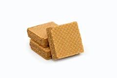 Wafer del cioccolato Immagini Stock Libere da Diritti