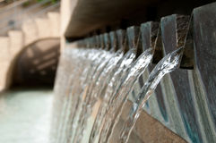 Wafer Fountains Royalty Free Stock Photos