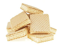 Wafer heap Royalty Free Stock Photo