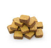 Wafer heap Royalty Free Stock Images