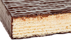 Wafer layer cake Royalty Free Stock Images