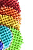 Wafer multi-colored background Royalty Free Stock Photo