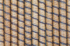 Wafer Roll Stock Photography