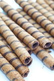 Wafer Roll Stock Image