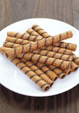 Wafer Roll Royalty Free Stock Images