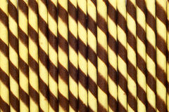 Wafer roll stick background Royalty Free Stock Images
