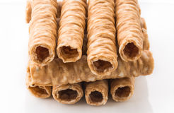 Wafer roll Royalty Free Stock Photo