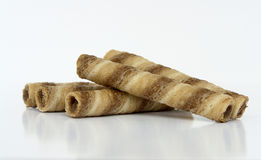 Wafer Rolls Stock Image