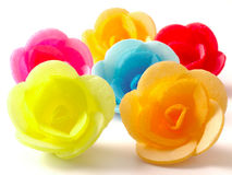 Wafer roses Royalty Free Stock Photography