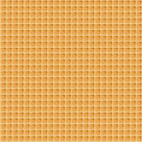 Wafer seamless background. Vector illustration. Waffle pattern Royalty Free Stock Photography