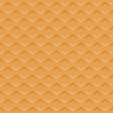 Wafer seamless texture background. Pattern Vector. Illustration Stock Images