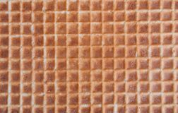 Wafer texture for a background. Wafer. Wafer texture for a background Stock Photo