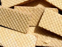 Wafers background Royalty Free Stock Image