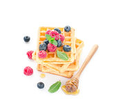 Wafers Stock Image