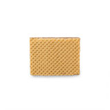 Wafers with chocolate on a white background Royalty Free Stock Image
