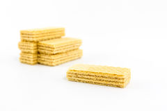 Wafers. Royalty Free Stock Photo