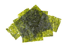 Wafers of compressed seaweed Stock Photos