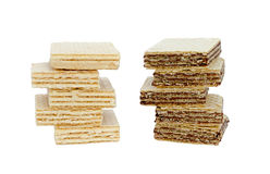 Wafers the isolated Royalty Free Stock Photos