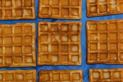 Wafers just baked Stock Images