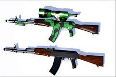 Waffe Ak-47 Lizenzfreies Stockfoto