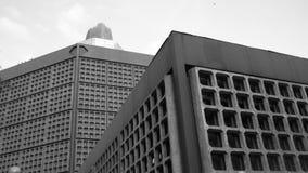 Waffel-Gebäude Stockbilder