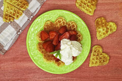 Waffels Stock Photography