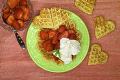 Waffels Royalty Free Stock Image