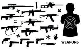Waffen Lizenzfreie Stockfotografie