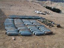 Waffen cachieren gefunden in der Helmand-Provinz Afghanistan Stockfotos