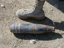 Waffen cachieren gefunden in der Helmand-Provinz Afghanistan Lizenzfreies Stockfoto