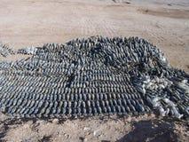 Waffen cachieren gefunden in der Helmand-Provinz Afghanistan Lizenzfreies Stockbild