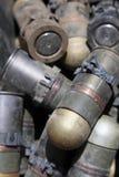 Waffen cachieren gefunden in der Helmand-Provinz Afghanistan Lizenzfreie Stockbilder