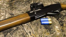 Waffen und Munition für die Jagd stockfoto