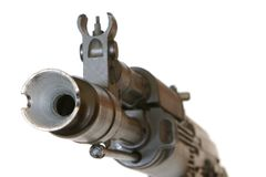 Waffengewalt Stockfoto