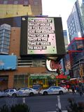 Waffengewalt, März für unsere Leben, NYC, NY, USA lizenzfreie stockfotos