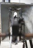 Waffenschlupfloch Stockbilder