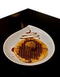 waffle мороженого Стоковое Фото