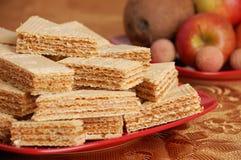 waffle таблицы карамельки Стоковые Фото