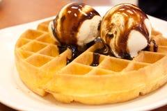 Waffle Stock Image
