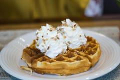 Waffle Fotos de Stock Royalty Free