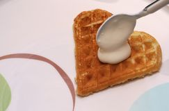 Waffle Royalty Free Stock Photos