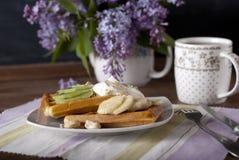 waffle Foto de Stock Royalty Free