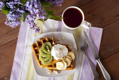 waffle Imagens de Stock