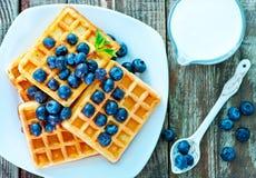 waffle fotografia de stock
